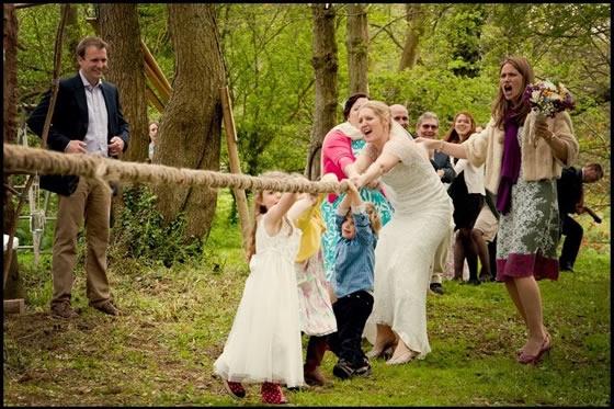 Diversão em festas de casamento