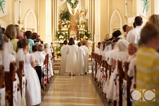 Eu Faço a Festa Festa de Primeira Comunh u00e3o -> Decoração Primeira Comunhão Igreja