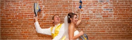 Jogo do sapato em casamentos