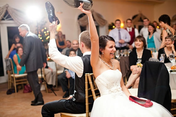 Jogo do sapato - Casamento