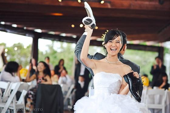 Jogos divertidos para casamentos - Jogo do Sapato