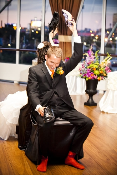 Diversão em casamentos - Jogo do Sapato