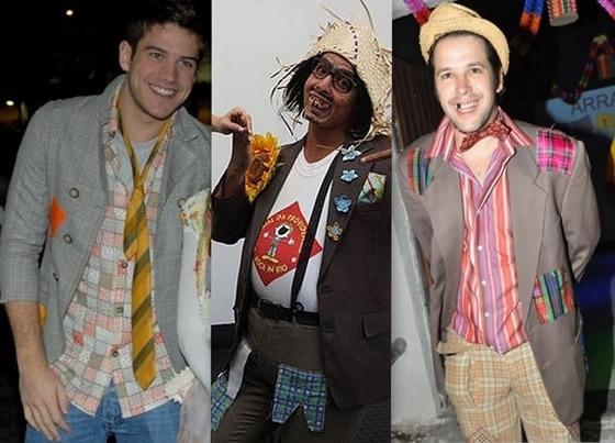 famosos vestidos para festa junina -