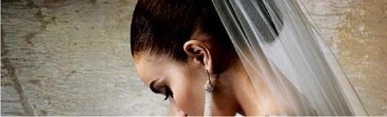 O véu da noiva