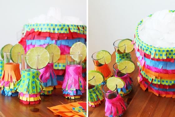 Copos Piñata inspiração - Brit