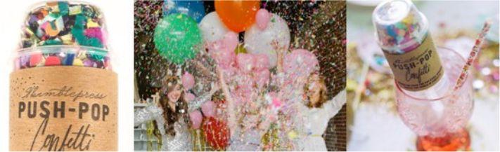 Pap lança confetes