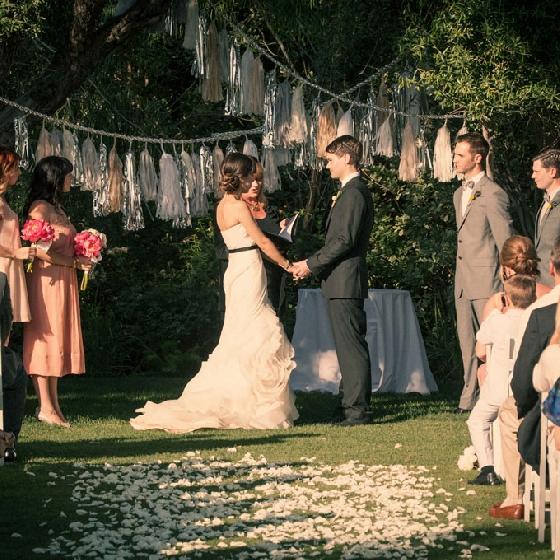 Tassel Garland para casamentos - brides