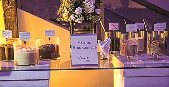 Bar de Brigadeiros para festas