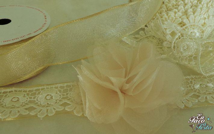 DIY corsage de casamento