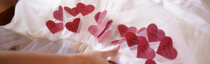 Nomes para vestido de noiva