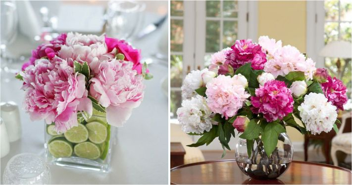 Arranjos florais para receber convidados em casa