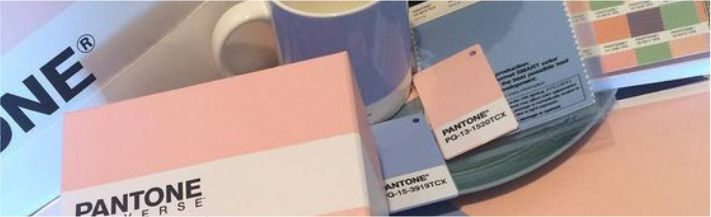 Cores do ano pantone
