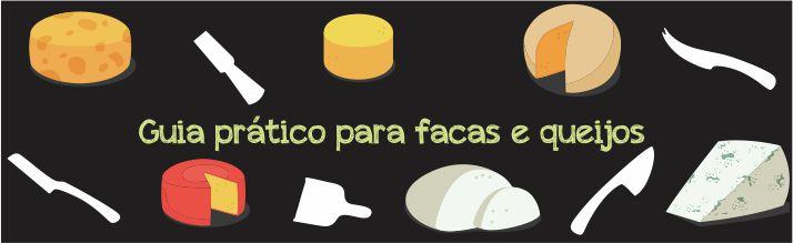 Guia para facas e queijos