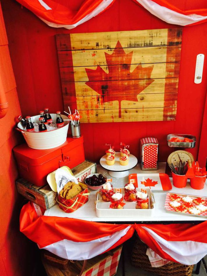 Canadian Themed Party Decorations