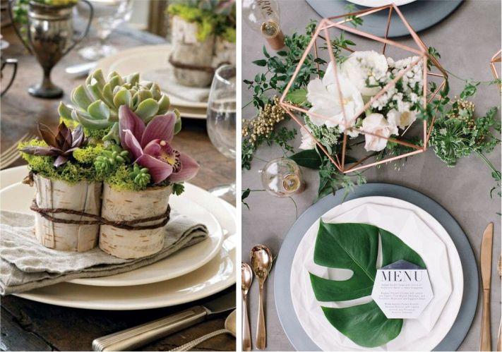 Arranjos florais para mesa