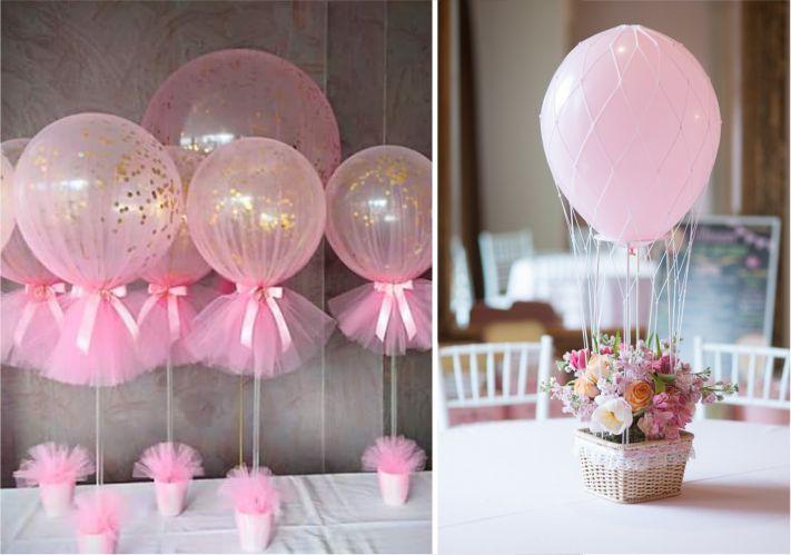 Balões para centro de mesa