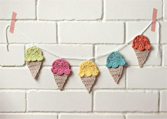 Bunting sorvete
