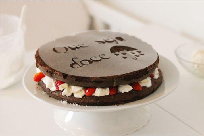 Acetato para recortado decoração de bolo