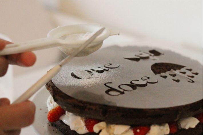 Stencil de bolo