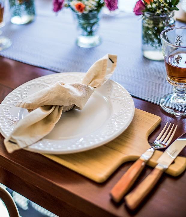 Tábua de carne para mesa
