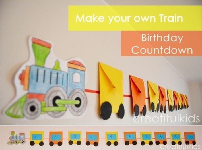 Contagem para aniversario infantil