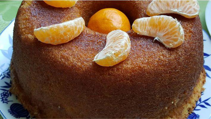 Receita bolo de fruta