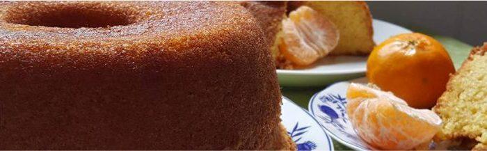 Receita bolo de mexerica