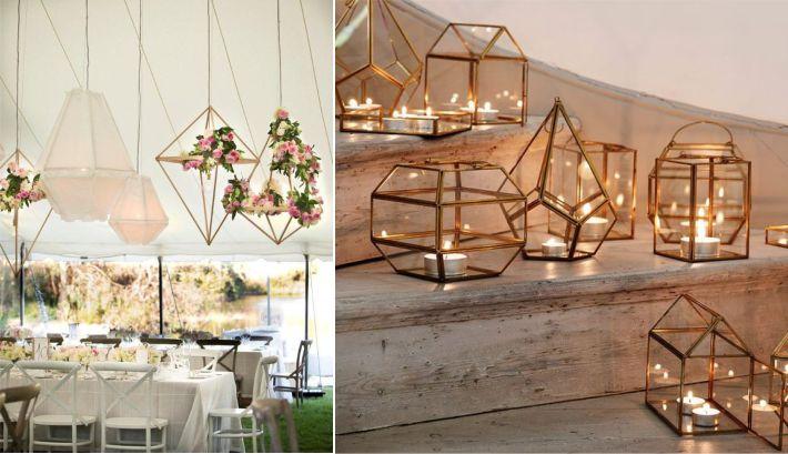 Formas geométricas para festas