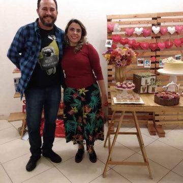Depoimento chá de Panela Érica e Halisson