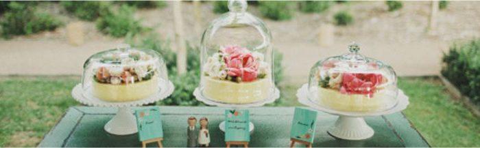 Cúpulas e Redomas para doces